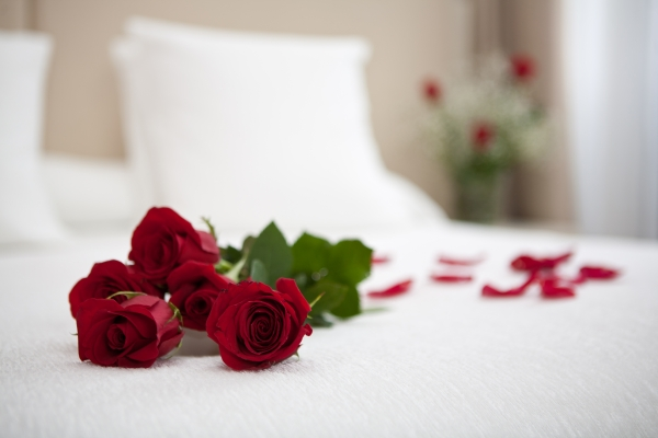 Double room with romantic experience