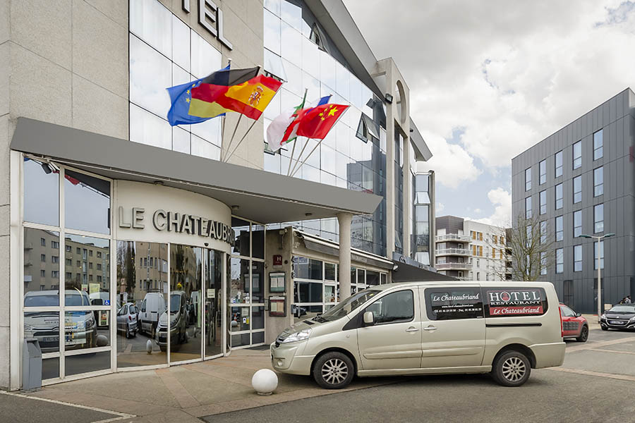 Hôtel & Restaurant Le Chateaubriand  galeria