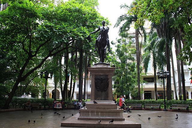 Las zonas verdes de Cartagena