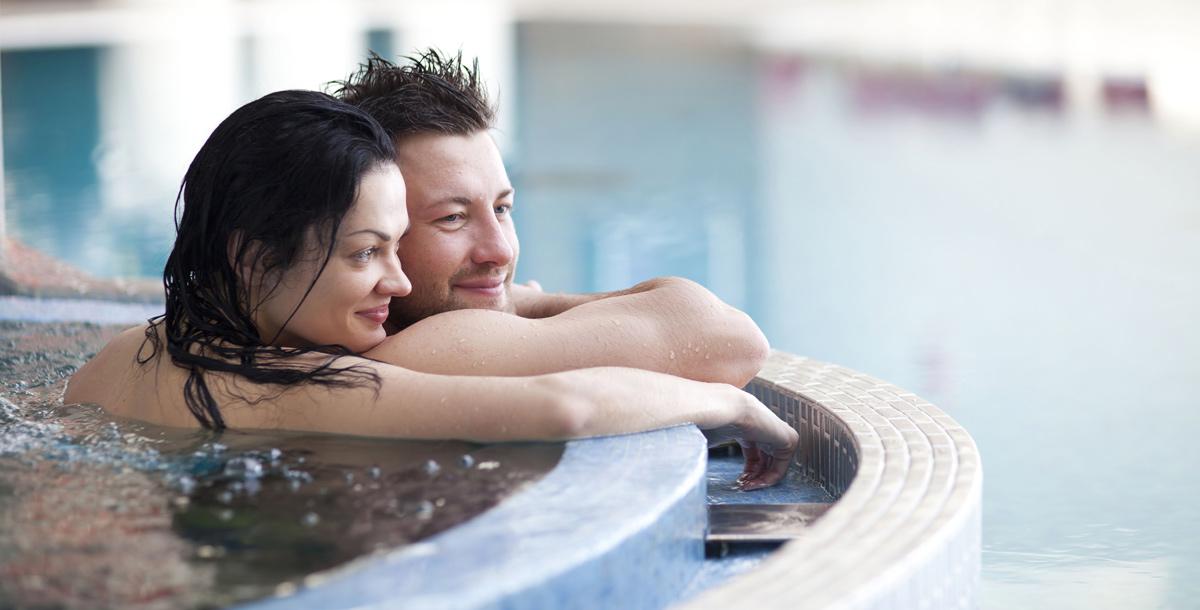 Romantisches Erlebnis mit Spa