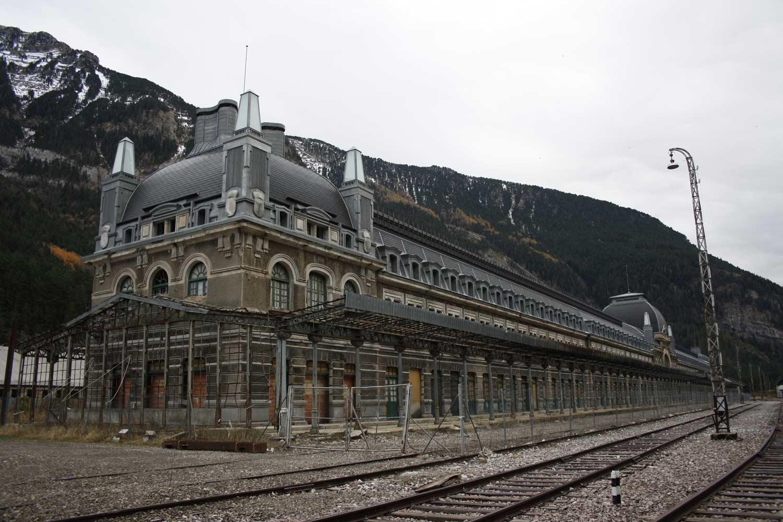 Station internationale de Canfranc