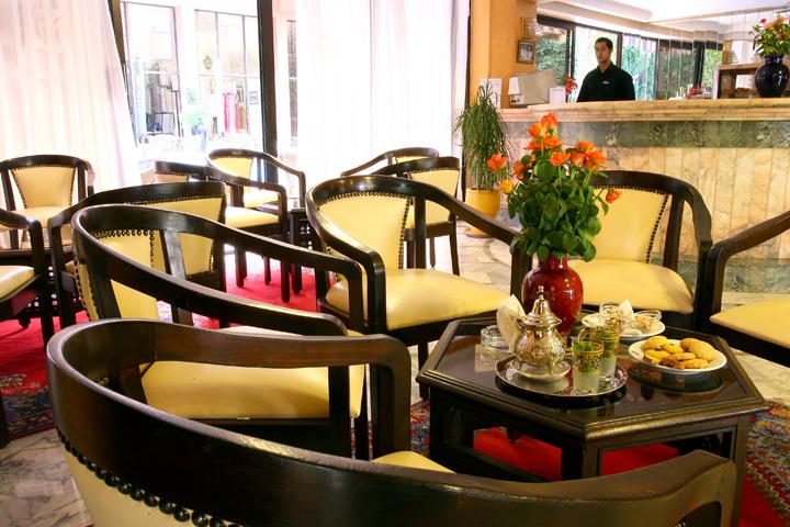 El salón de té Tichka