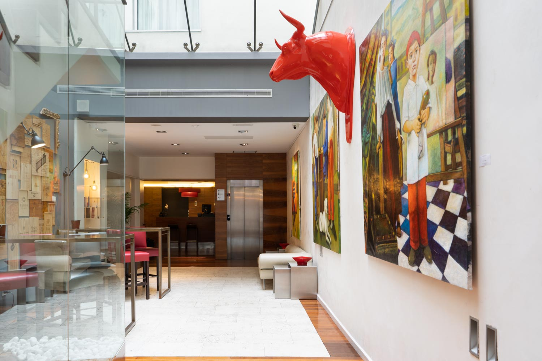 Eurostars Marqués de Vallejo - Art gallery