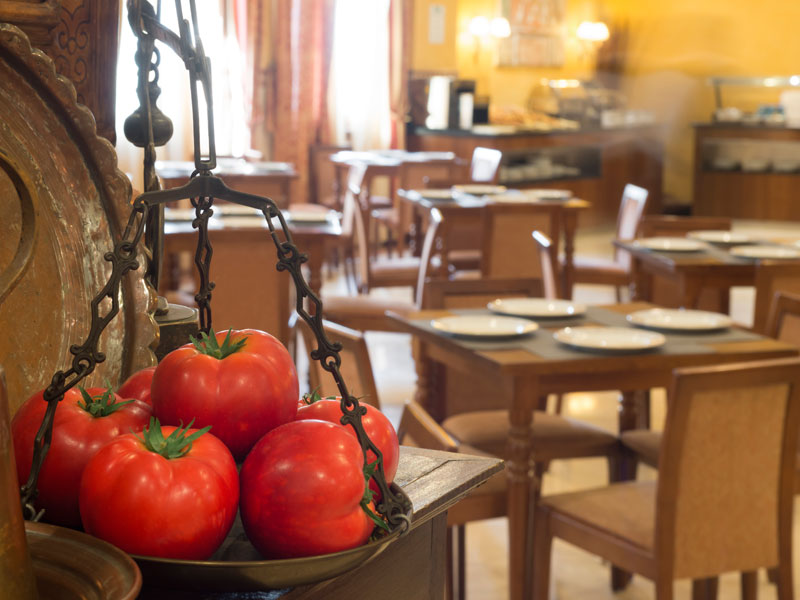 Eurostars Maimónides - Gastronomia