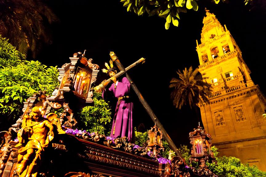 Vista procesiones Semana Santa