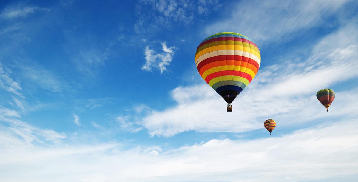 Een uitstapje per luchtballon