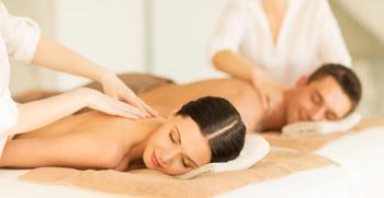 Massage des tiefliegenden Gewebes