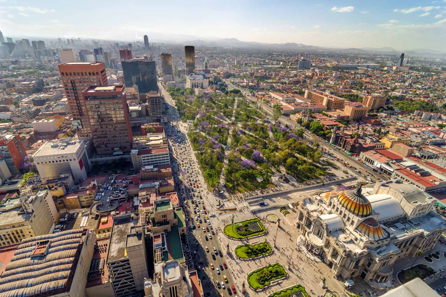 The historic and modern Mexico City Tour
