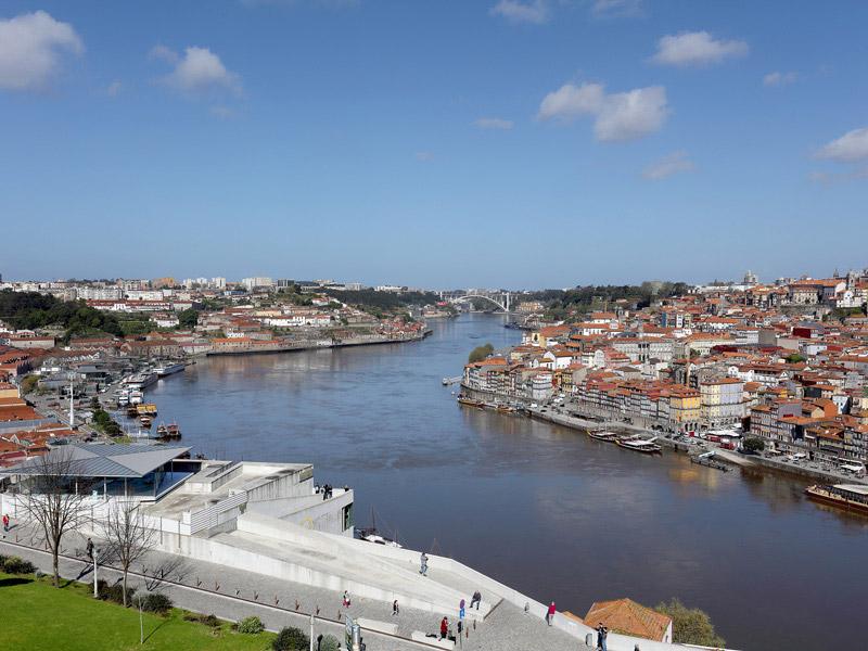 Bootsfahrt in Oporto