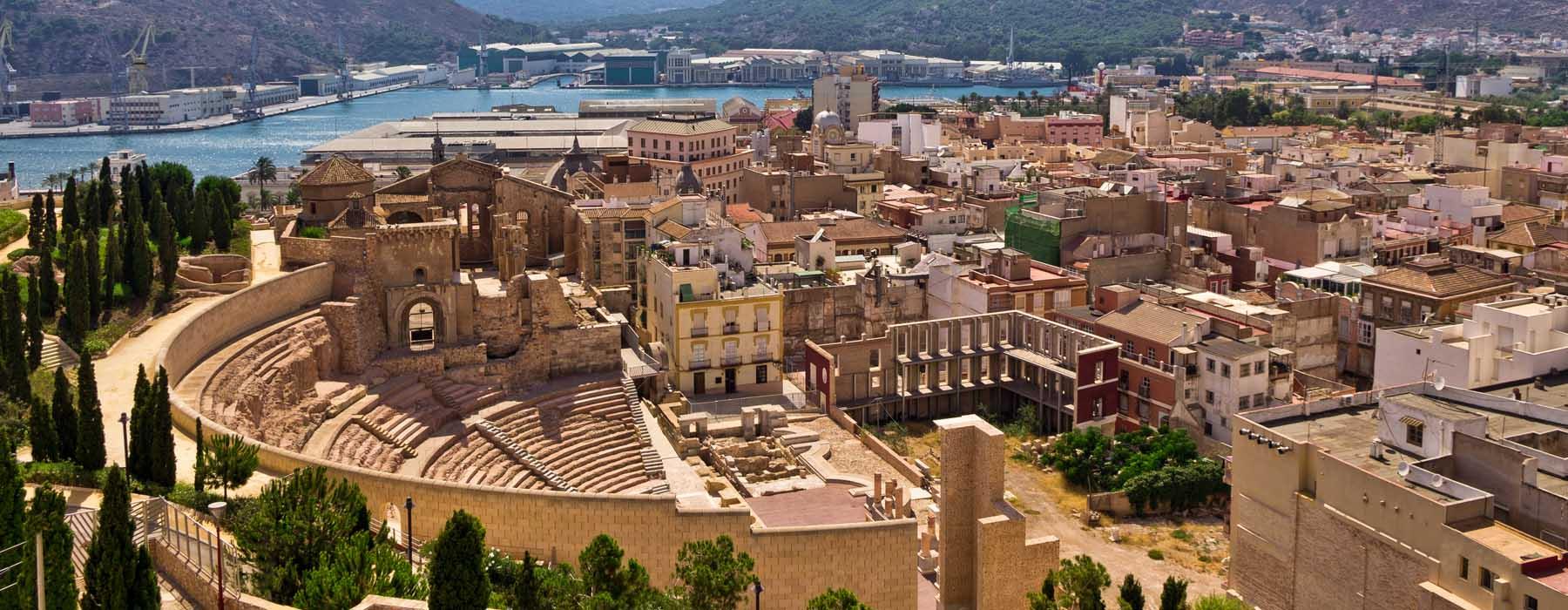 Museum + Roman Theater + Roman Forum thermal springs + Castle of Concepción
