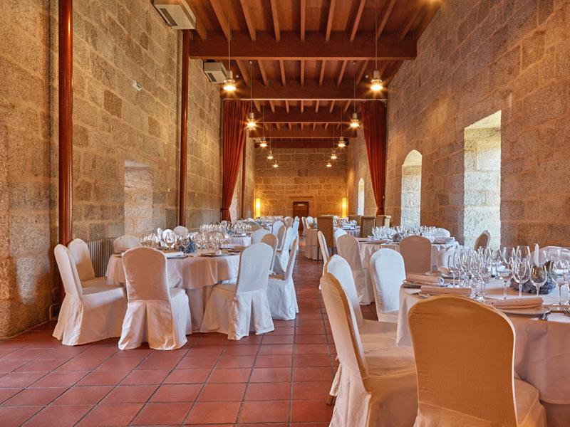 Eurostars Monumento Monasterio de San Clodio Hotel & Spa - Salones