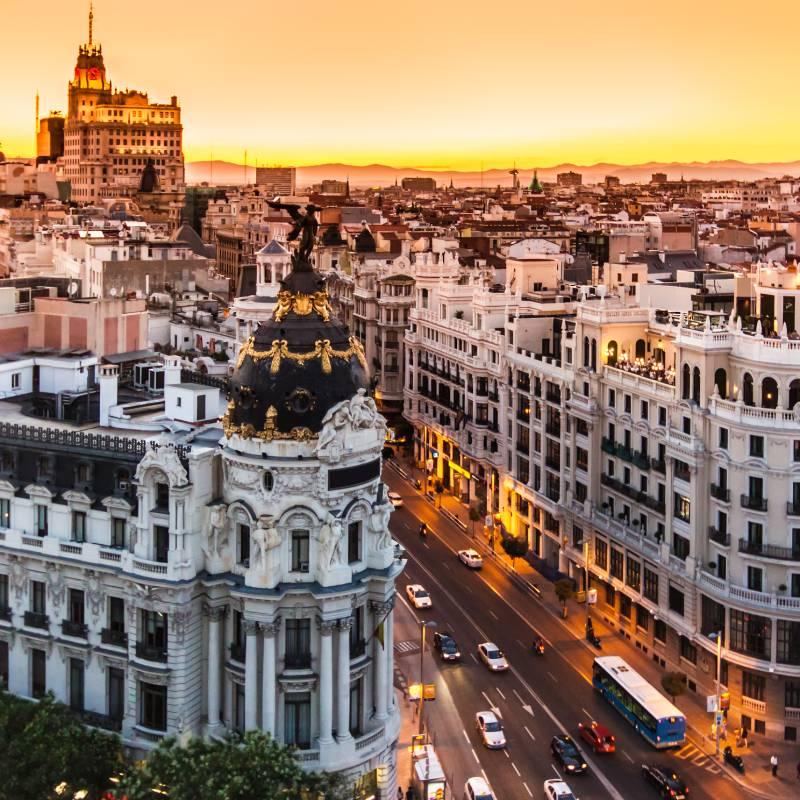 Estancias en el centro de Madrid