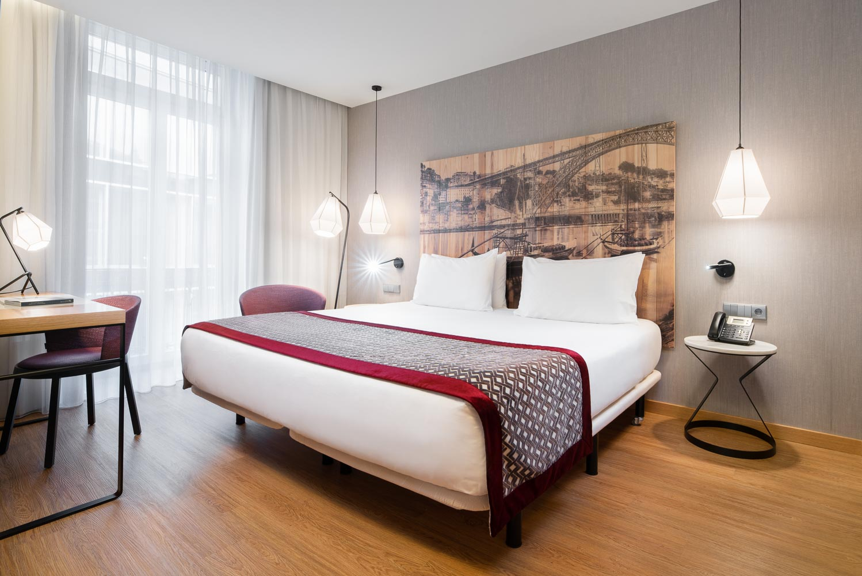 Camera Matrimoniale Per Uso Singolo.Camere Eurostars Porto Centro A Porto