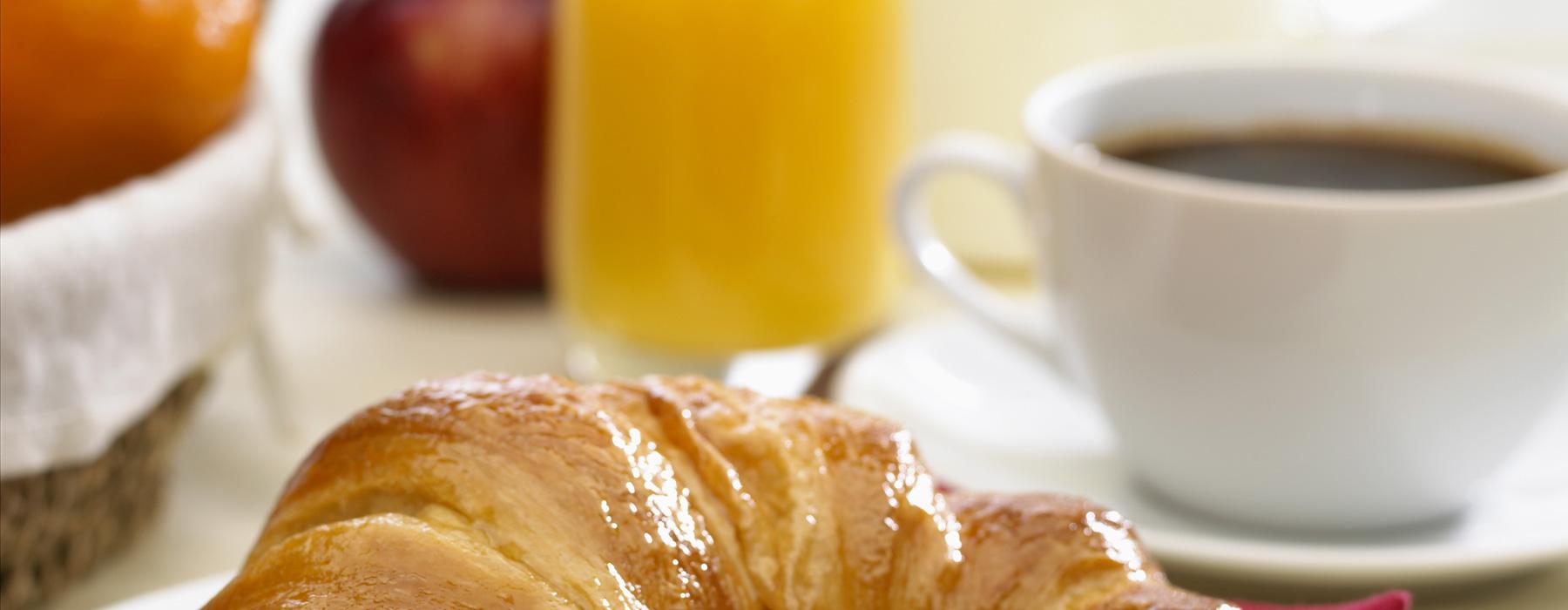 Obtén un descuento en el desayuno