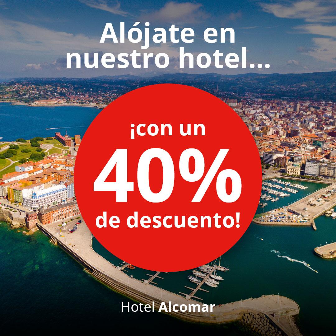Alójate con descuento en Gijón