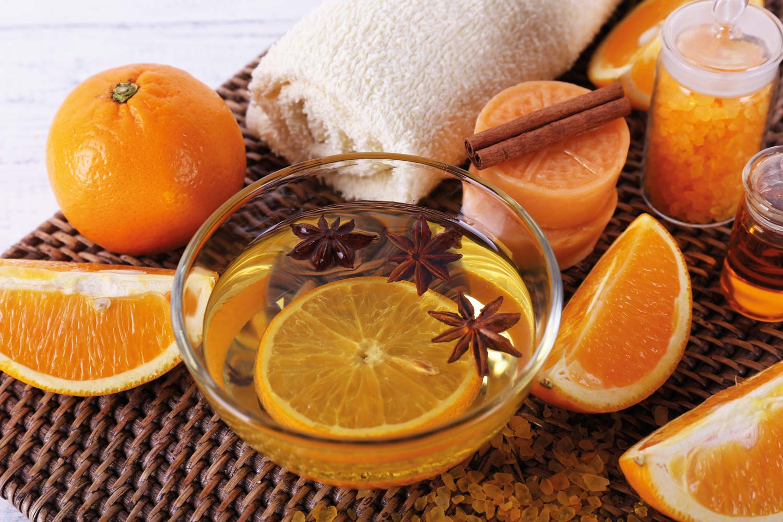 Tratamiento revitalizante de naranjo dulce